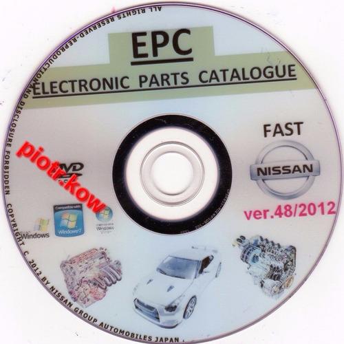 Nissan Catálogo Partes Epc Despiece 2017 2018