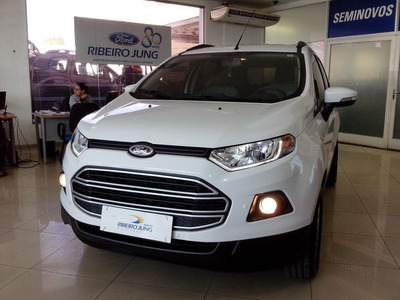 Ford Ecosport 1.6 Se 2017 Branca Flex
