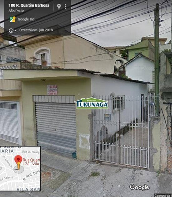 Casa Residencial + Salão Comercial À Venda, Vila Santa Maria, São Paulo. - Ca0383