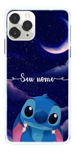 Imagem 1 de 2 de Capinha Compatível Samsung iPhone Motorola Stitch Com Nome
