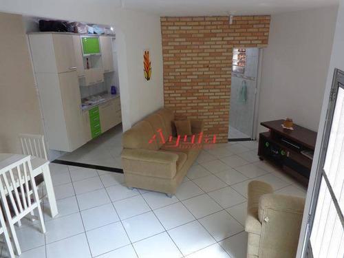 Sobrado Com 3 Dormitórios À Venda, 110 M² Por R$ 265.000,00 - Vila Cardoso Franco - São Paulo/sp - So0222