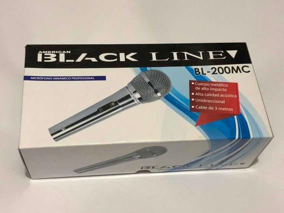 Microfono Black Line Alámbrico Bl200mc