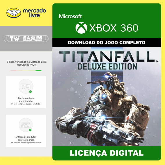 Titanfall Deluxe Edition Edição De Luxo Xbox 360 Digital