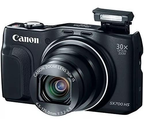 Câmera Canon Sx700hs 30x Superzoom Na Caixa Excelente Estado