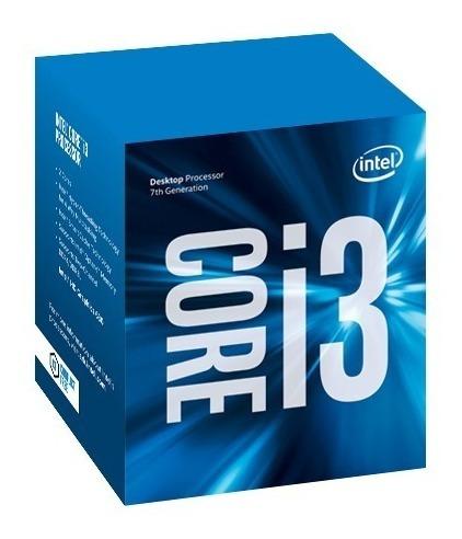 Kit Intel 7ª Geração I3 7100, 8gb Ddr4 Hyper X, Ga H110m-h