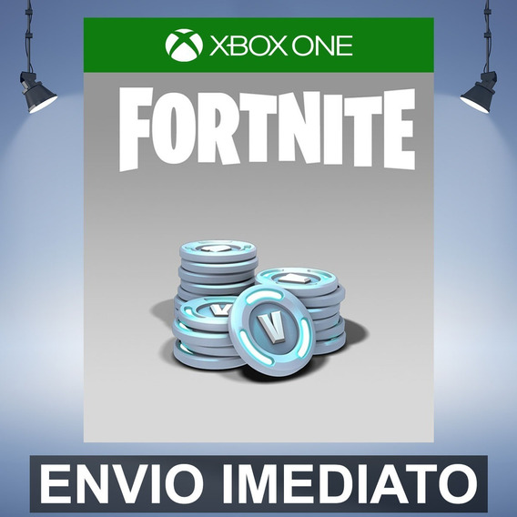 Fortnite 7800 V-bucks Código De 25 Digitos Xbox One