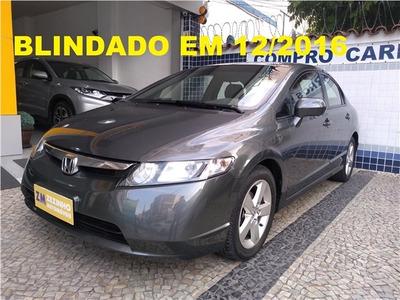 Honda Civic 1.8 Lxs 16v Gasolina 4p Manual