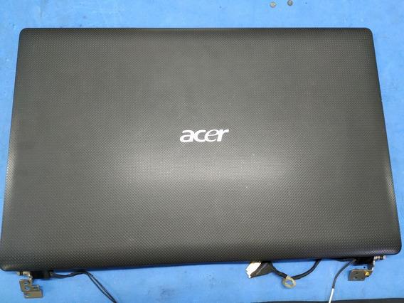 Carcaça Tampa Da Tela E Moldura Notebook Acer 5741-5775