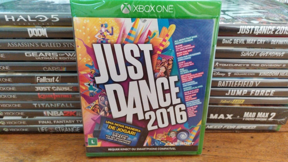 Just Dance 2016 Mídia Física - Xbox One - Original - Lacrado