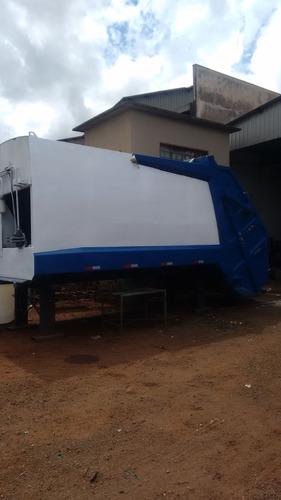 Coletor Compactador De Lixo 19metros Cúbicos