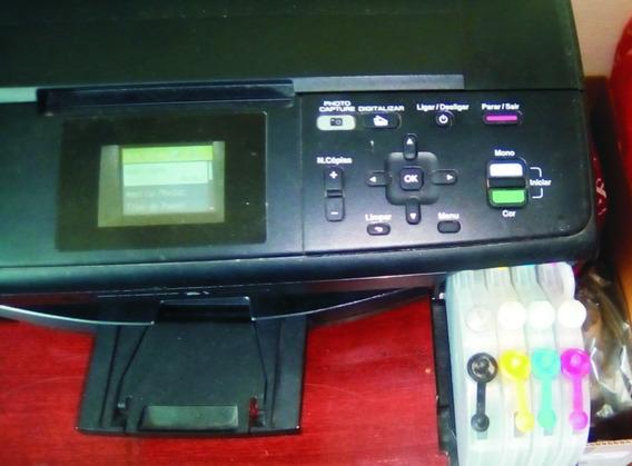 Impressora Multifuncional Brother Dcp J 125 Jato De Tinta