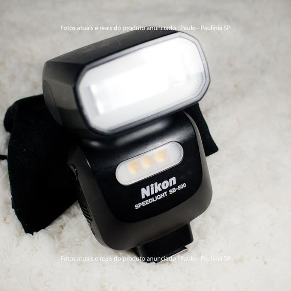 Flash Sb-500 Nikon (usado)