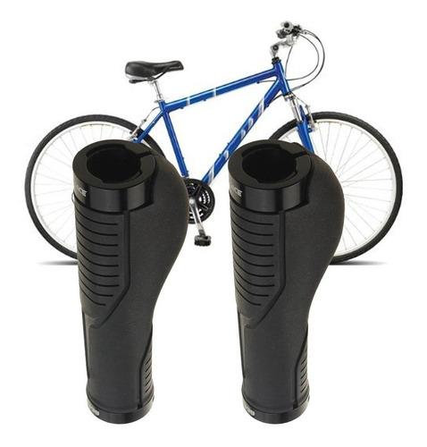 BESLIME Pu/ños MTB Ergonomicos Pu/ños para Bicicleta Doble Bloqueo Antideslizante Caucho Pu/ños Manillar Bicicleta para Bici de Monta/ña MTB BMX con Mango de Di/ámetro