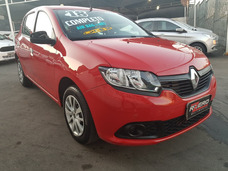 Renault Sandero 2018 1.0 12v Flex Completo 18.000 Km Novo