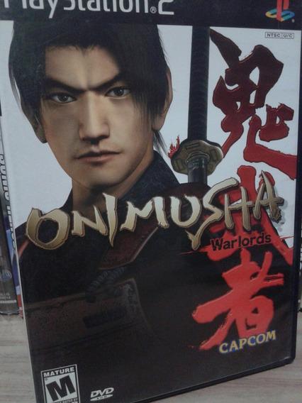 Onimusha Warlords Ps2 Original Completo Americano