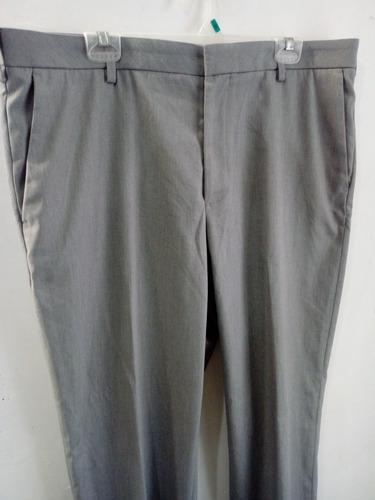 Pantalon Vestible Gris Hombre Van Heusen Mercado Libre
