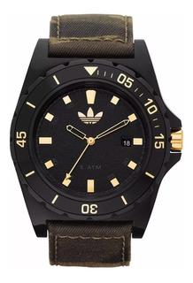 Reloj adidas Unisex Camuflado Adh 2813 Tela Camuflada 3 Agujas Resistente Al Agua Original Envio Full Fac A Y B