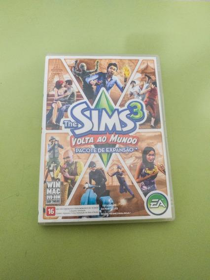 The Sims 3 Volta Ao Mundo Expansão - Original Usado
