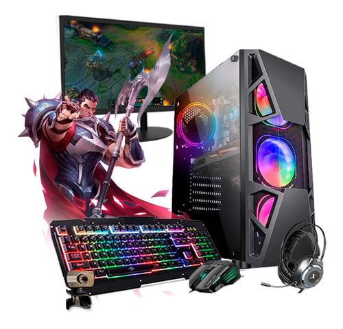 Imagem 1 de 8 de Pc Gamer Darius Completo I5 3ºger. Gtx 1650 16gb Ssd 480gb