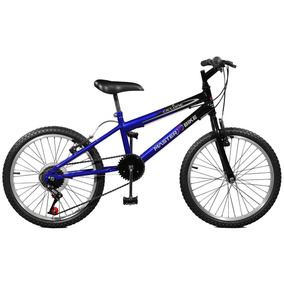 Bicicleta Aro 20 7 Marchas Ciclone Plus Master Bike