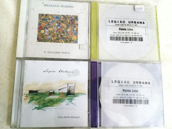 Box 4 Cds Renato Russo + Legião Urbana