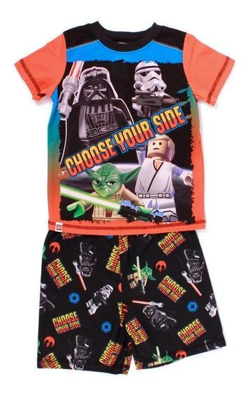 Pijama Para Niño Lego Star Wars Choose Your Side Con Short