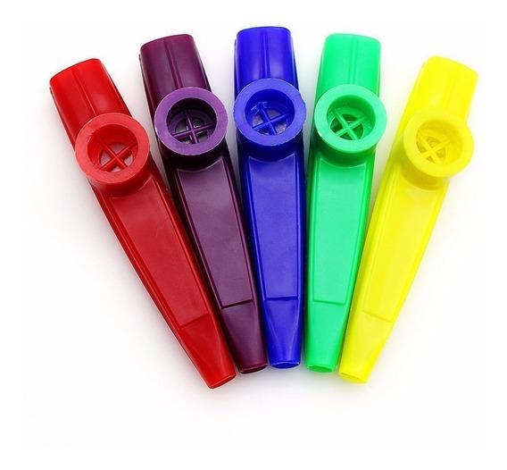 Kazoo Stagg De Plastico | Varios Colores | Dos Registros