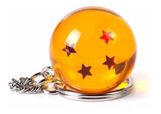 Esfera Del Dragon 4 Estrellas Dragon Ball Importada Llavero
