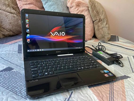 Notebook Sony Vaio Vpcea4s1e - Intel I3, 8gb, Ssd De 240gb
