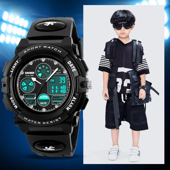 Relógio Infantil Esportivo Skmei Cronômetro Prova D