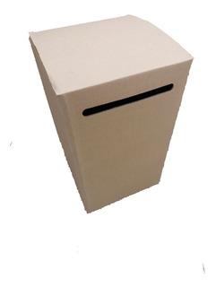 Urnas De Carton P/votacion U Otros 50 X 30 X 30 Cm