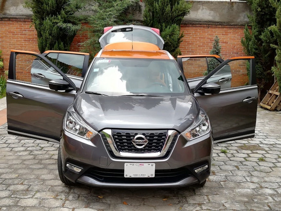 Nissan Kicks Exclusive Bi-tono 2018 Cvt. Solo 4000 Kms