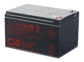 Batería Csb Scooter Eléctrico Ups Alarma 12 Volts 12 Amperes
