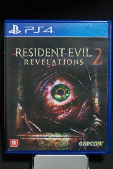 Jogo Resident Evil Revelations 2 Para Playstation 4