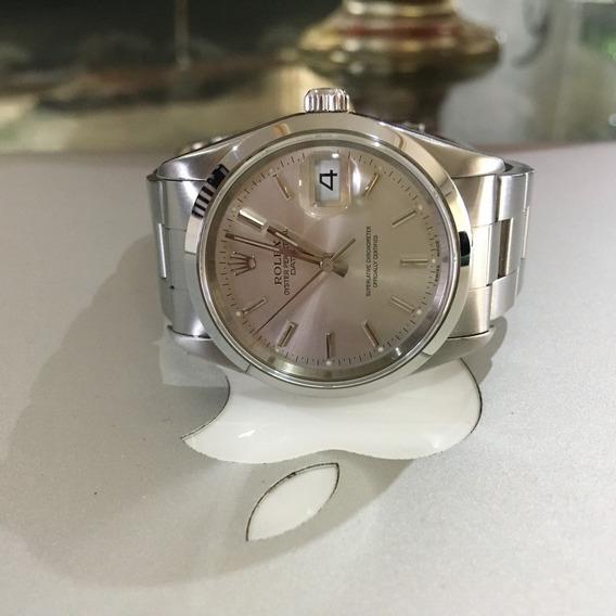 Rolex Oyster Perpetual Date Safira Duvido Mais Novo Omega