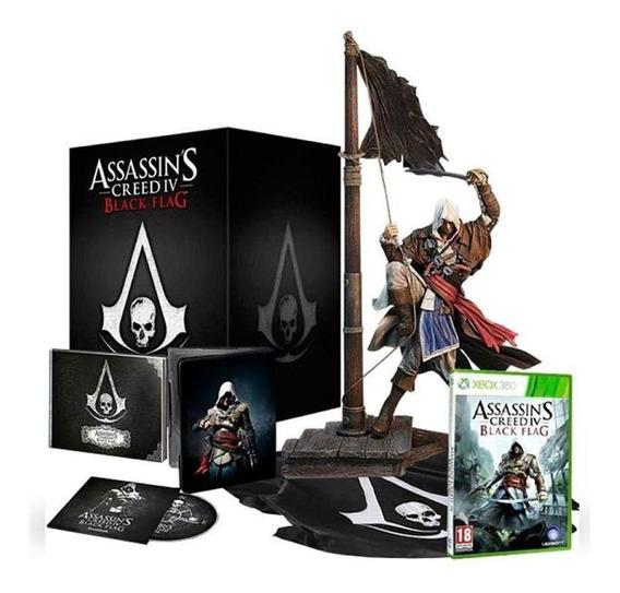 Assassins Creed Iv Black Flag Limited Edition Xbox 360 Mídia