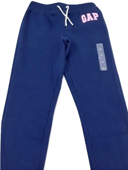 Gap Pants Para Niña Azul Marino Talla 10 100% Original