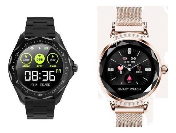 Relógio Inteligente-smartwatch Para Ela E Para Ele