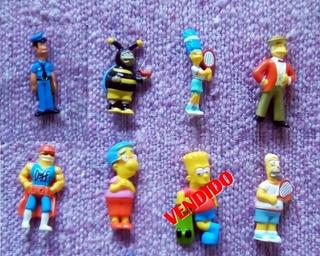 Muñequitos Miniatura Los Simpson - Coleccion Jack