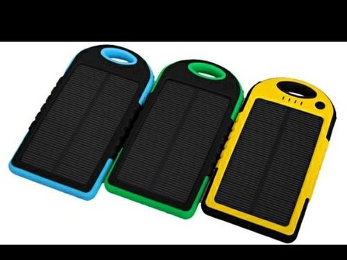 Cargador Power Bank Solar 20000 Ma Portatil Panel Solar