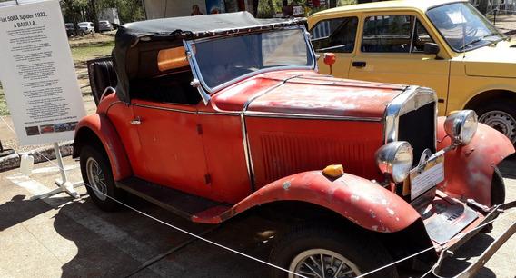 Fiat 508a Balilla Spider 1932
