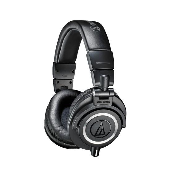 Fone Audio Technica Ath M50x Dj Studio 2 Anos Garantia E Nf