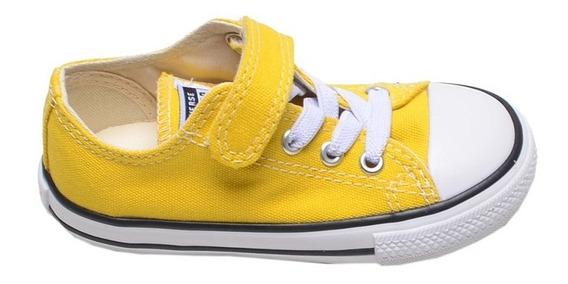 Tênis Infantil All Star Converse Amarelo