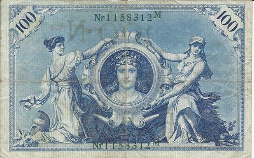 Imagen 1 de 2 de Alemania 100   Marcos 1908