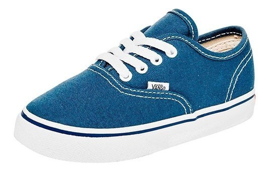 Tenis Vans Td Authentic Azul Tallas De #11 A #15 Bebes