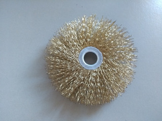 Escova Circular Aço Carbono - Tipo Anel - A-35 Furo 1/2