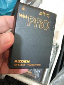 Microfone Azden S/ F Lapela E Mão P/ Filmadora (único Dono)