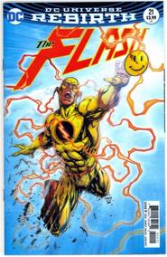 Flash 21 (dc 2017) Portada Lenticular batman