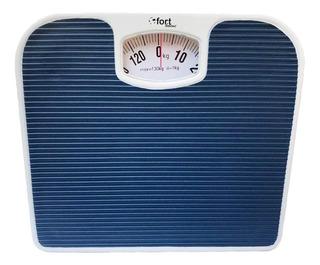 Balança corporal mecânica Fort Home FH-1001 azul