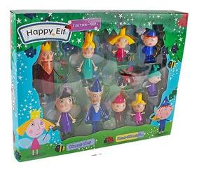 Bonecos Ben E Holly Pequeno Reino Kit 10 Ben E Holly Caixa